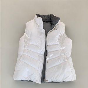 Nike women's down reversible vest white /grey  S